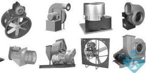 انواع هواکش صنعتی