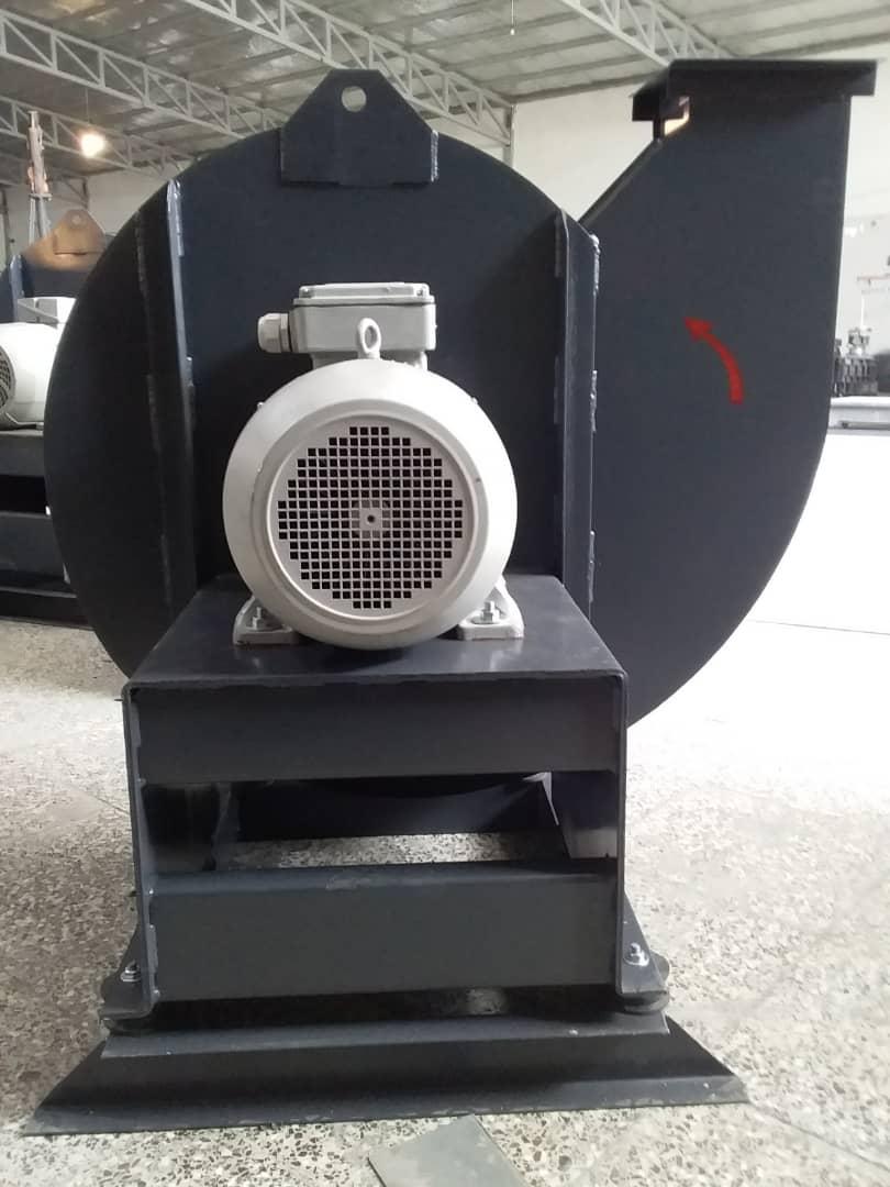 فن سانتریفیوژ بکوارد فشارقوی - هواکش حلزونی