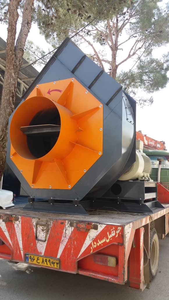 فن غبارگیر صنعتی - اگزاست فن