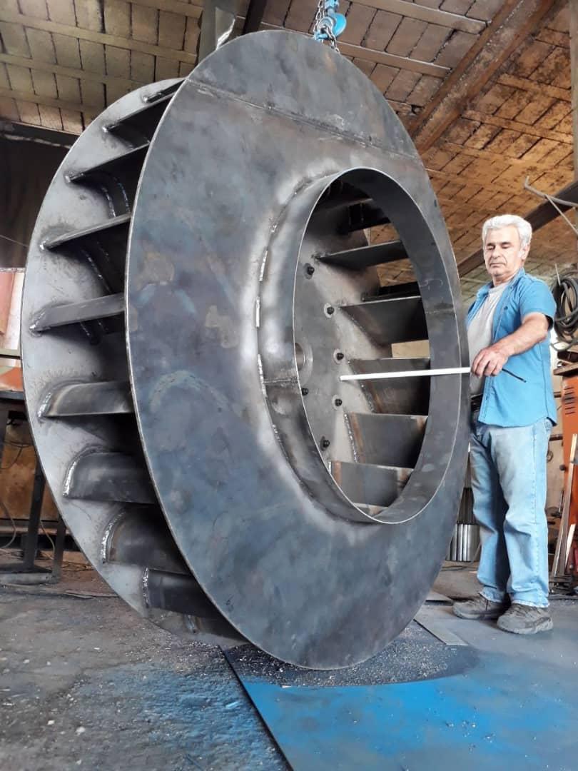 هواکش صنعتی در یزد